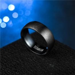 Black Titanium Men's Matte Steel Ring Special Fashion Gift Jewelry Accessories